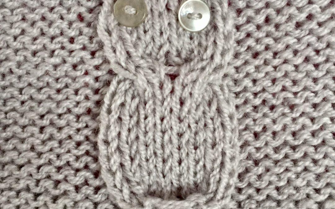 Du tricot et de la couture